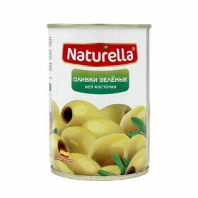 Naturella Оливки Зелёные без косточки 280гр Isp