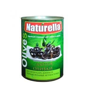 Naturella Оливки Чёрные Резаные без косточки 280гр
