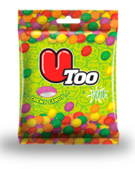 Durukan U Too Sour Chewy Candy 25