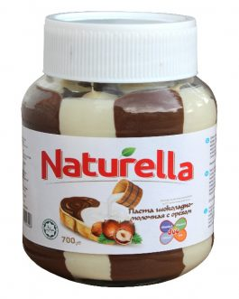 Naturella DUO Молочная Молочная Шоколадная Паста с Фундуком 700