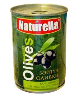 Naturella Оливки Чёрные без косточки 3100