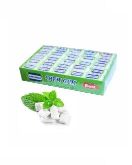 National Chew Gum Жевательная Резинка Мята