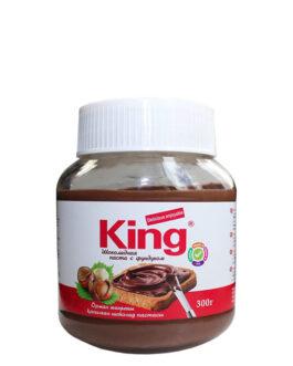 King Шоколадная паста с фундуком 300