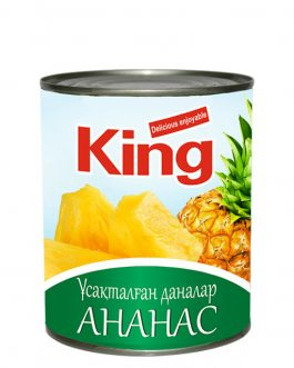 King Ананасы кусочки 565