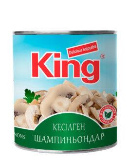 King резаные шампиньоны 800