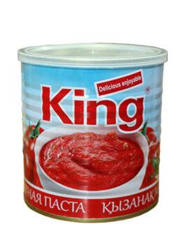 King томатная паста 800